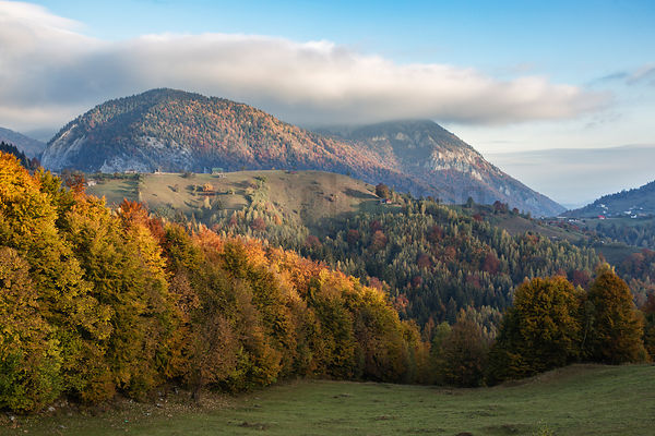 Autumn Landscape from Pestera