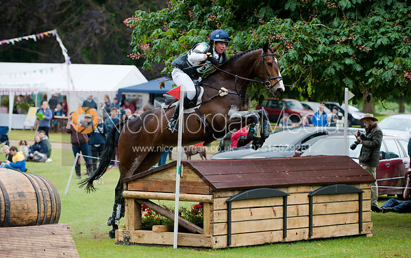 Tom Mcewen and Private Ruddle, Subaru Houghton International Horse Trials, May 2011
