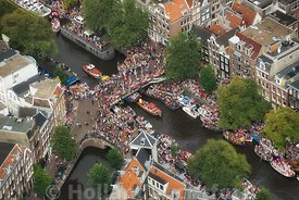 Amsterdam - Luchtfoto Canal Parade 12