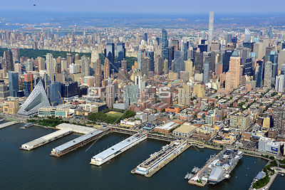 Midtown West Manhattan Waterfront Pier 86 to Pier 94 New York City