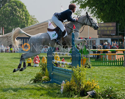Matthew Wright and Well Spotted - Show Jumping