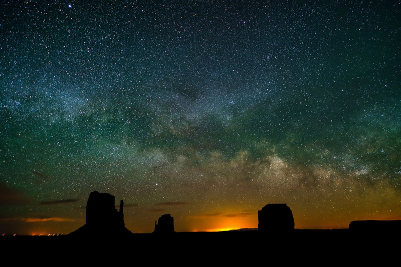 Monumental Milky Way