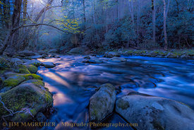 Moonlight On The Little Pigeon River