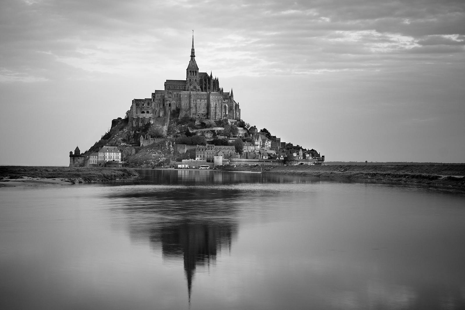 Mont St Michel at Dawn, Normandy