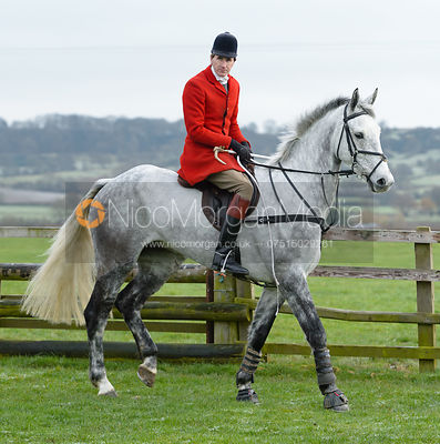 Otis Ferry at the meet at Highfield Farm