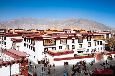Jokang temple, Lhasa, Tibet, China