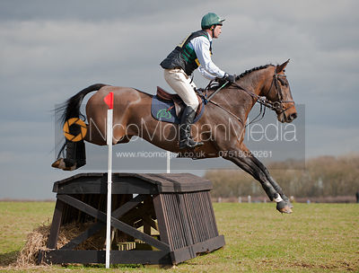 Mark Kyle and Durlas Aris, Oasby Horse Trials 2011