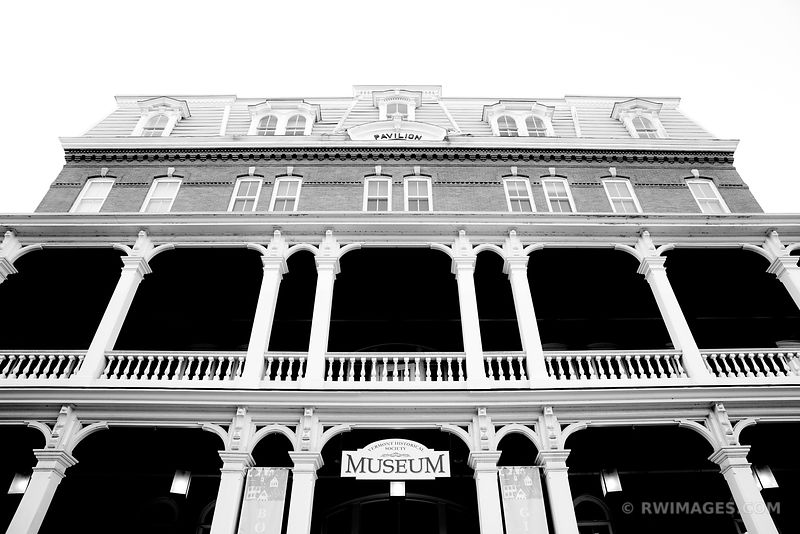 VERMONT HISTORICAL SOCIETY MUSEUM MONTPELIER VERMONT BLACK AND WHITE