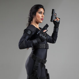Nisha Future Cop stock photos
