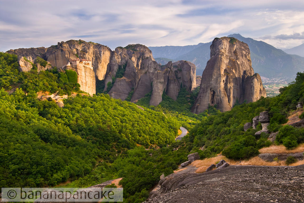 The Holy Monastery of Rousanou, Meteora, Greece