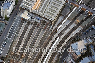 Aerial London Railyard