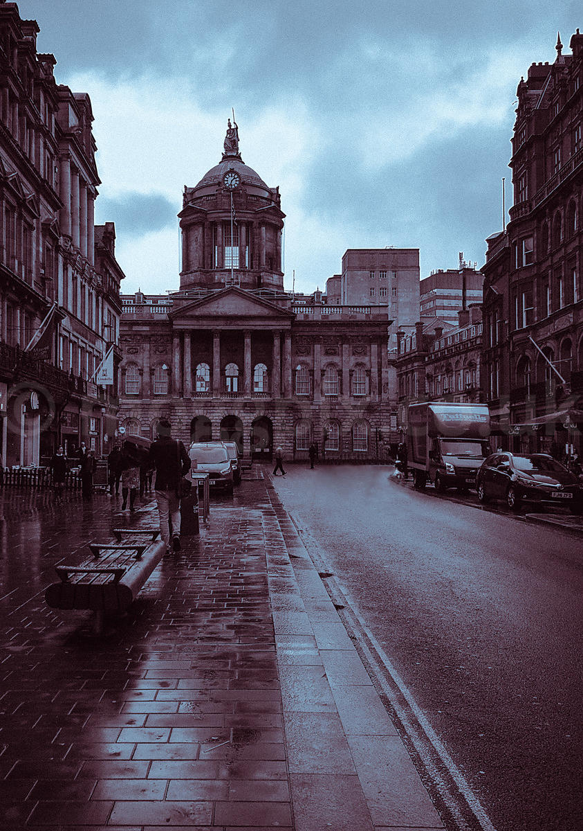 A Rainy Day in Castle Street