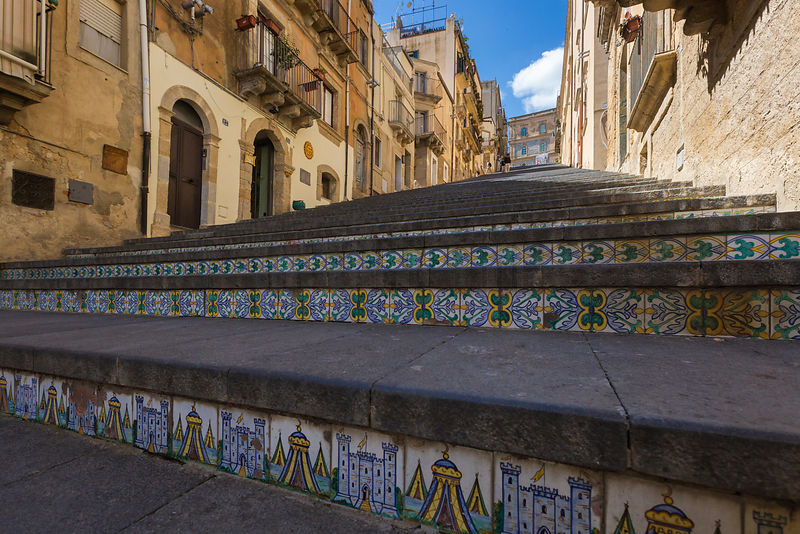 The Steps of Santa Maria del Monte