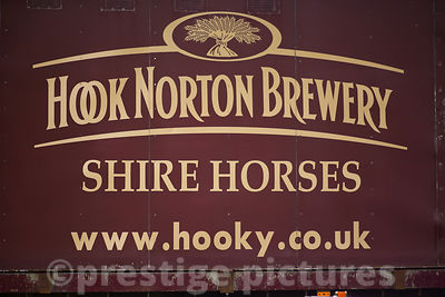 Hook Norton Brewery Shire Horse sign