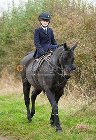 Ladies riding side saddle - Quorn Hunt Opening Meet, The Kennels 26/10