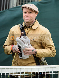 Keith Flint at the Mitsubishi Motors Badminton Horse Trials 2018