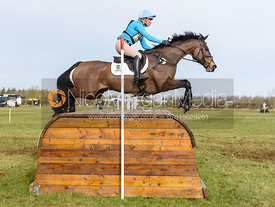 Izzy Taylor and SPRINGPOWER. Oasby (1) Horse Trials 2019