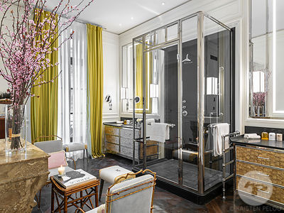 JKPlace Paris, hotel designed by architect Michele Bonan, Paris, France . Photo ©Kristen Pelou