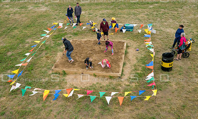 Buried Treasure Windscape Kite Festival Swift Current Saskatchewan