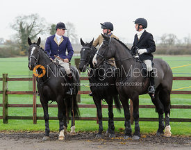 The Cottesmore Hunt at Ranksborough 24/11