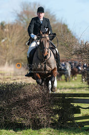 Follower jumping the first hedge