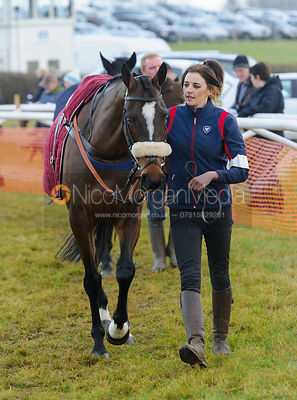 The Parade Ring - Race 2 - Intermediate - Midlands Area Club Point-to-point 2017, Thorpe Lodge 29/1