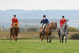 Stephen Rayns, Robin Smith-Ryland, David Mee - Quorn Hunt Opening Meet 2016
