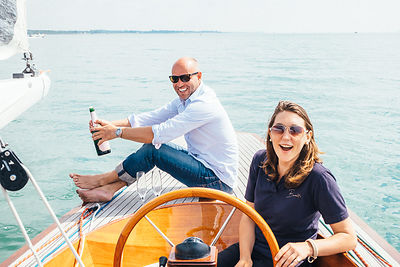 Yacht rental company - lifestyle shoot