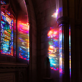 Stained Glass Projections
