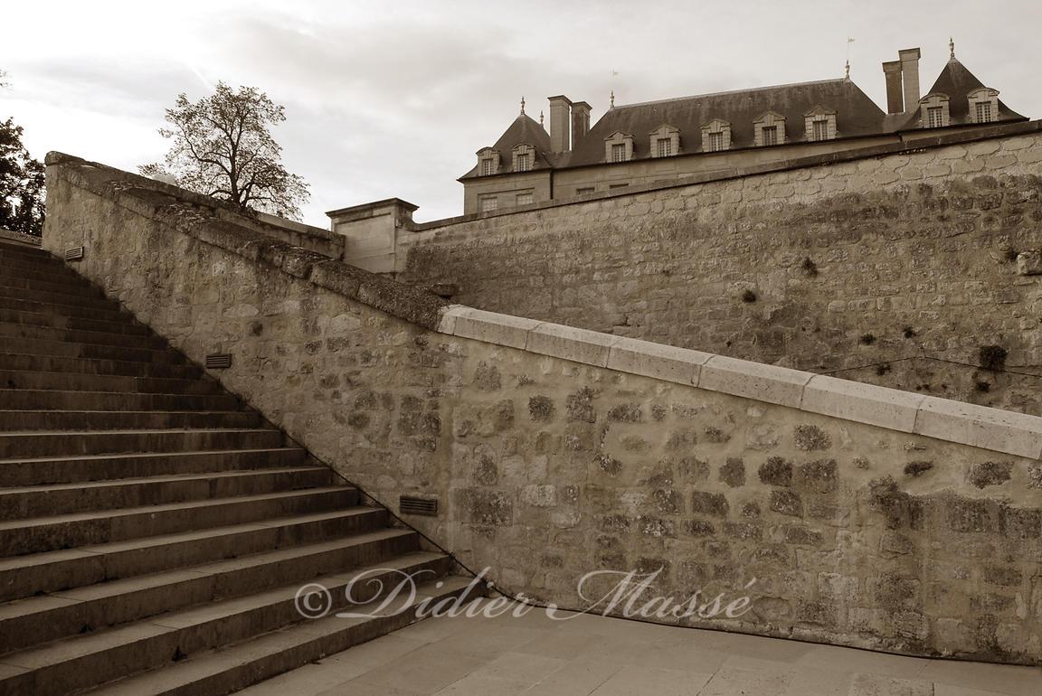 Escalier Val D Oise clichés amassés - didier massé | escalier au jardin du