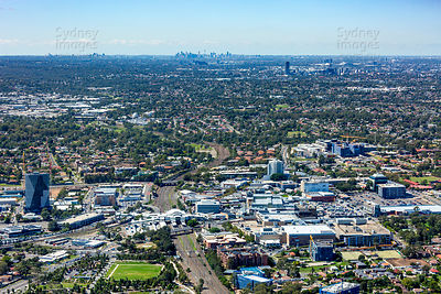 Blacktown Looking East