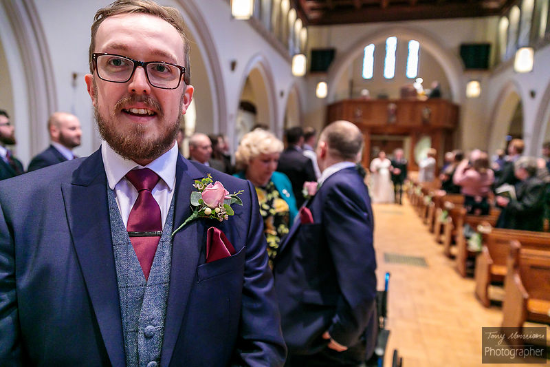 Wedding at Holy Trinity R.C. Church, Sutton Coldfield, Birmingham UK & Riverside Hotel, Branston, Burton-on-Trent, Derbyshire...