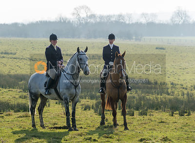 The Cottesmore Hunt at Ladywood Lodge 5th March 2013
