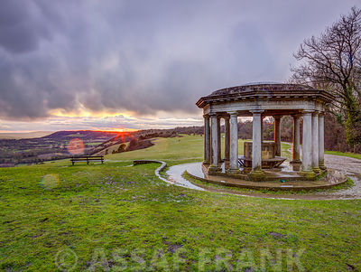 Inglis Memorial on  Reigate Hill, Surrey, UK