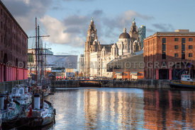 The Three Graces From The Albert Dock