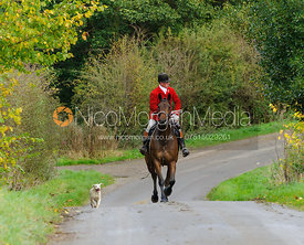 Robert Medcalf - The Cottesmore Hunt at Tilton on the Hill, 9-11-13