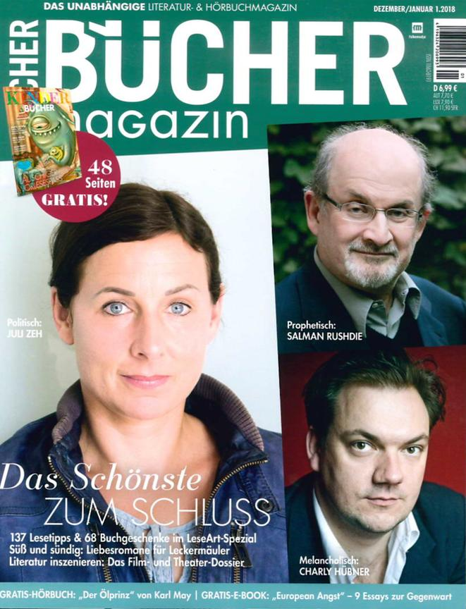 Bücher Magazine (Allemagne) Dec 2017