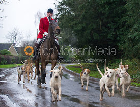 Anderw Osborne MFH - The Cottesmore Hunt at Belton-in-Rutland 21/12