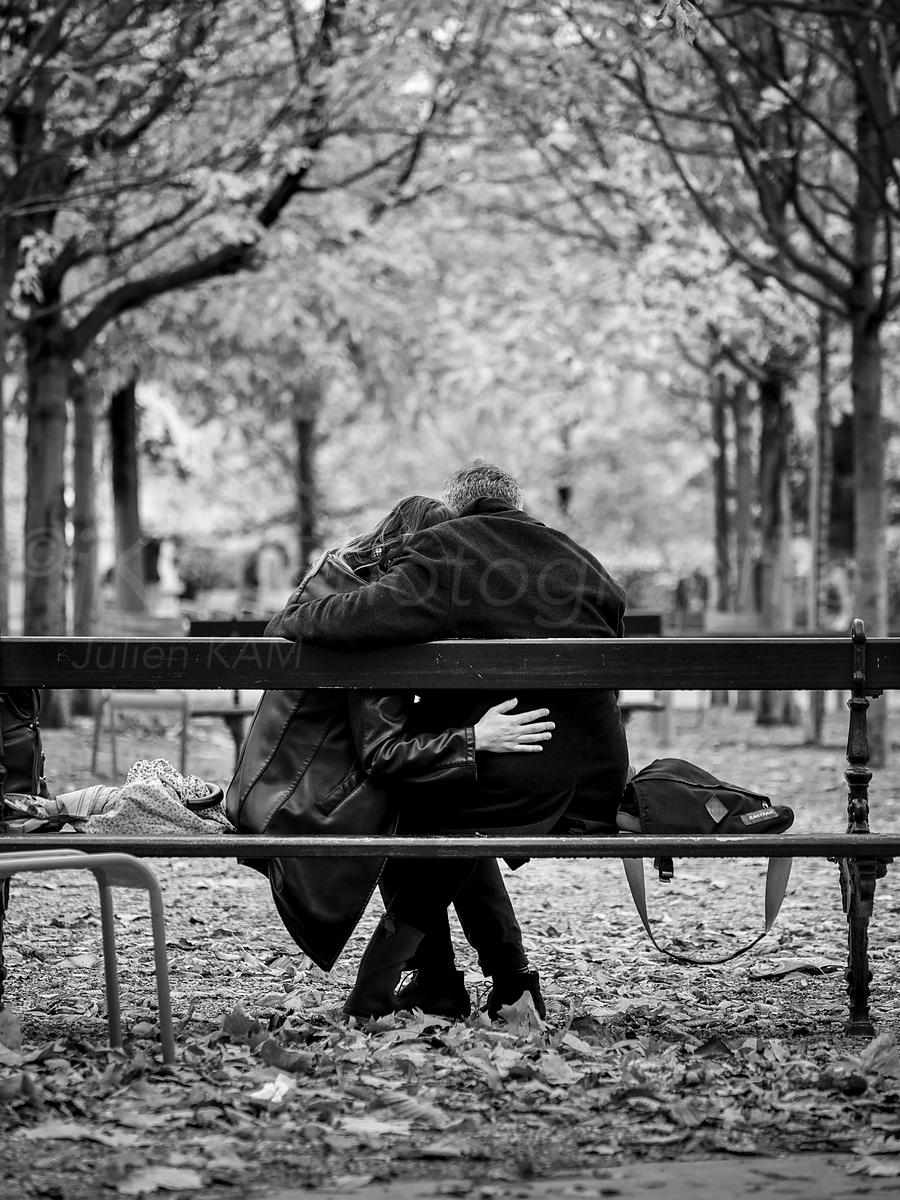 Street Photo - Love in Paris...before