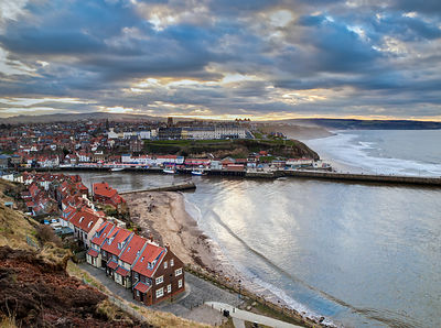 Afternoon light, Whitby harbour