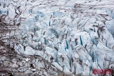 Svinafellsjokull glacier in South Iceland