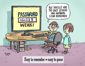 Weak Password Kids