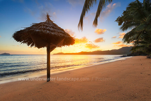 Sunset on a beach - Moheli - Comoros