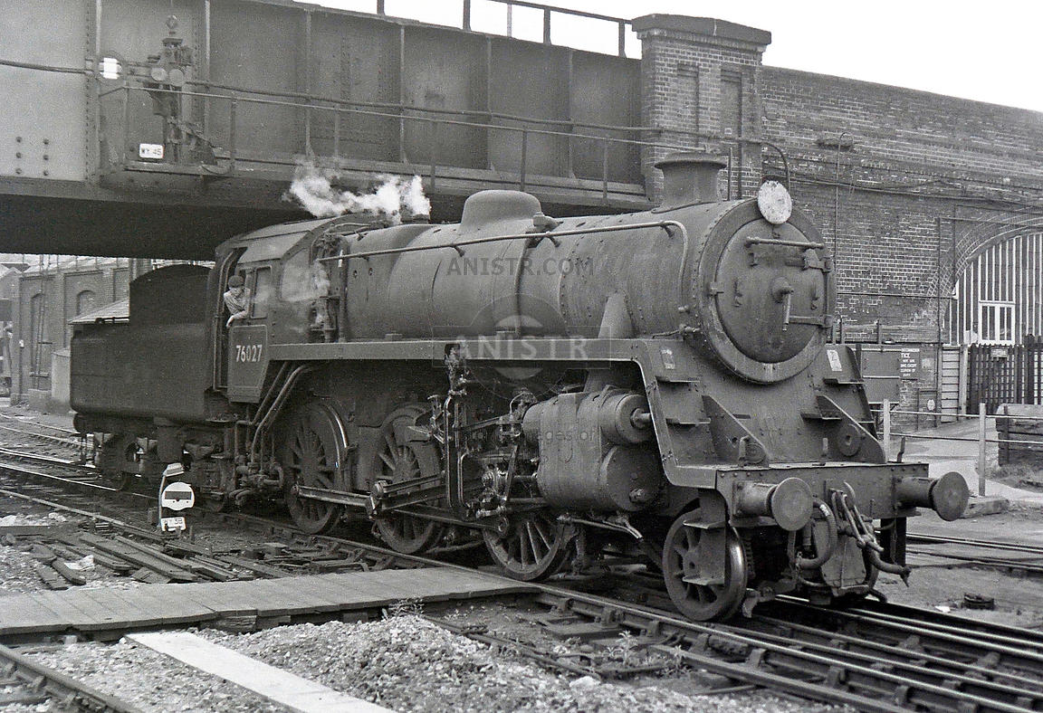 Steam loco Standard 4MT 76027 Guildford