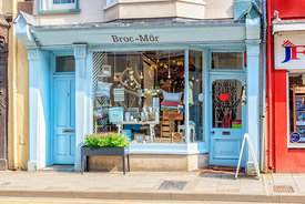 Broc-Mor independent gift shop, Aberystwyth