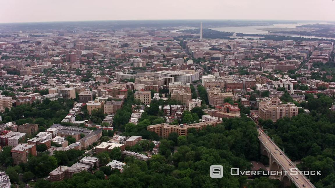 Astounding Overflightstock Washington D C Aerial View Of White Download Free Architecture Designs Scobabritishbridgeorg