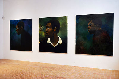 © Lynette Yiadom-Boakye, Uncle of the Garden,1995