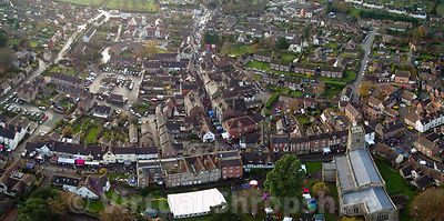 Much Wenlock Christmas Fayre 2017 (Panorama)