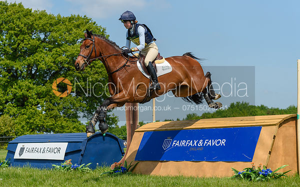 Daisy Liddle and COUNT DANILO, Fairfax & Favor Rockingham Horse Trials 2018
