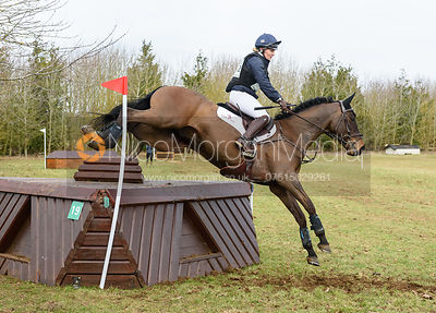 Holly Woodhead and E WARRANTSSON. Oasby (1) Horse Trials 2019
